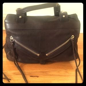 Botkier brown leather trigger bag